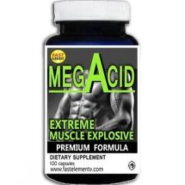MEGACID MUSCLE EXPLOSIVE 100 CAPS AMINOÄCIDO EN TABLETAS