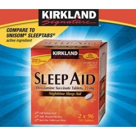 KIRKLAND SLEEP AID 96 CAPS