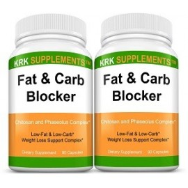 FAT CARB BLOCKER 2 BOTTLES 180 CAPS