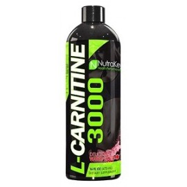 NUTRAKEY LIQUID L-CARNITINE 3000 480ML