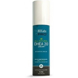 BIOLABS PRO ALL NATURAL DHEA 20 CREAM 85 GRAMOS