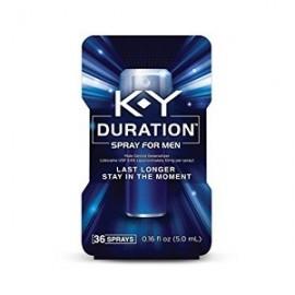 K-Y DURATION 36 APLICACIONES SPRAY RETARDADOR DE EYACULACION