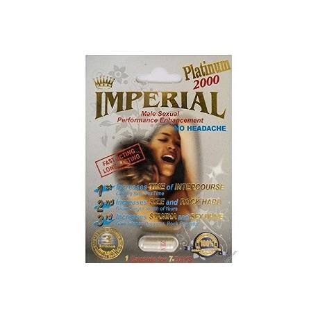 IMPERIAL PLATINUM 2000 MG 6 CAPS