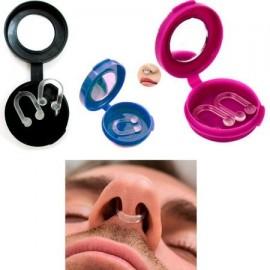 3 paquetes de lucha contra el ronquido de la nariz clips parada del ronquido gratuito Sleep Aid Guardia Noche Tv dispositivo
