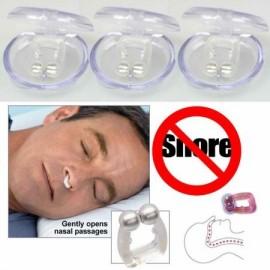 3 Detener ronquido anti libre del ronquido clip de la nariz Ayuda para el Sueño Guardia Noche dispositivo de TV Nuevo-