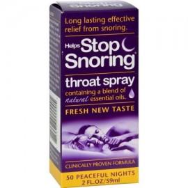 Salud esenciales ayuda dejar de roncar garganta Spray - 2 fl oz - (Pack de 2)