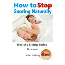 Cómo dejar de roncar, naturalmente