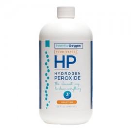 Essential Oxygen 3% de la categoría alimenticia de peróxido de hidrógeno 32 oz