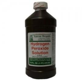 El hidrógeno solución de peróxido primeros auxilios antiséptico botella de 16 oz 4 Piezas EM-60390