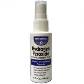 El peróxido de hidrógeno primeros auxilios antisépticas 2 oz Botellas del aerosol (6 Conde) EM-60365