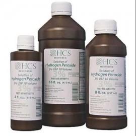 0201 peróxido de hidrógeno Botella 8 oz PK12 G1953309
