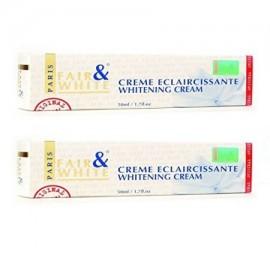 Crema Eclaircissante blanquea la crema Elimina imperfecciones de la piel vibrante Cutis (2-Pack) 17 oz por