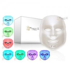 Tratamiento de la Piel de luz LED de color de fotones terapia de rejuvenecimiento 7 blanquea la máscara de belleza diario Cuida
