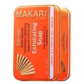 Extreme zanahoria y aceite de argán jabón de barra 7 oz - Anti-Aging Jabón Exfoliante y Aligera la piel con Organiclarine -