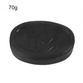 Jabón Facial 70G Negro de carbón de bambú que blanquea jabón hecho a mano de la piel facial cuidado del acné Tratamiento de