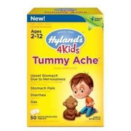 4 niños Dolor de barriga tabletas alivio natural del dolor de estómago diarrea y gases para los niños 50 Conde