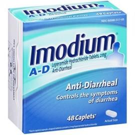 6 Pack Imodium antidiarreicos Clorhidrato de loperamida 48 Caplets Cada
