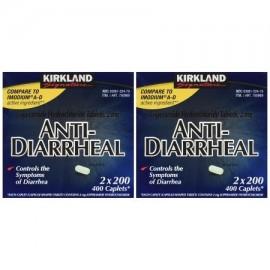 Antidiarreico loperamida clorhidrato de 2 Milligram 800 Caplets total (paquete de 4) Buque de América