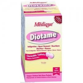 Diotame Protective Coating Tablets Diarrea de alivio de 5 cajas (500 tabletas) MS-71190