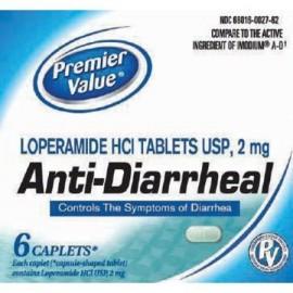 antidiarreicos Caplets - 6 ct