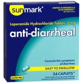 antidiarreicos Caplets - 24 ct