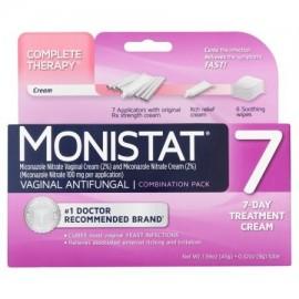 paquete de combinación dentro de la vagina Tratamiento Día 7 7 antifúngica