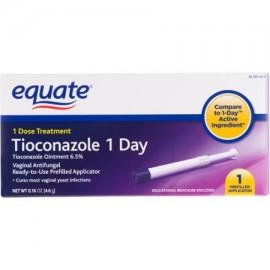 Tratamiento Día 1 tioconazole vaginales antihongos