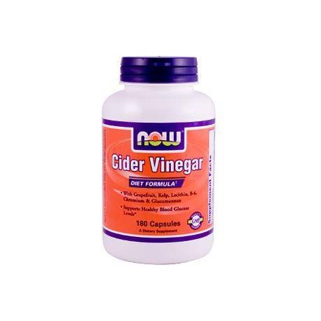 Cider Vinegar de Now Foods - 180 Capsulas