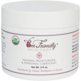 Orgánica de la Salud dentro de la vagina hidratante y lubricante personal Por BeeFriendly certificado USDA Vulva crema para la