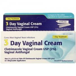 3 Día Crema vaginal 074 oz