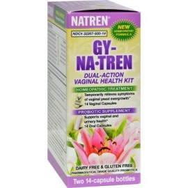 Gy-na.tren vaginal Solution Kit de Salud - 2 Botellas