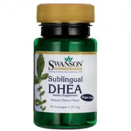 Swanson sublingual DHEA (sin azúcar) 25 mg 60 pastillas