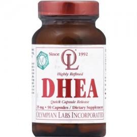 DHEA 25 mg cápsula de liberación rápida 90 CT