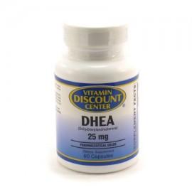 DHEA 25 mg por 60 Cápsulas