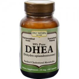 DHEA - 25 mg - 60 Cápsulas - (Pack de 2)