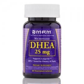 DHEA 25 mg (micronizado) - 60 cápsulas vegetales por