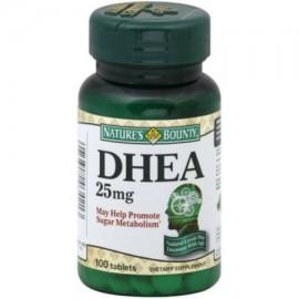 DHEA 25 mg comprimidos 100 ea