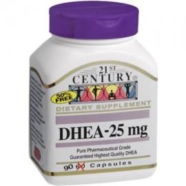 DHEA-25 mg Cápsulas 90 ea (Pack de 4)