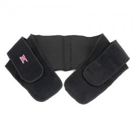 Doble correas de compresión ajustable bajar de peso de la cintura correa de soporte Engranaje de la aptitud de la banda