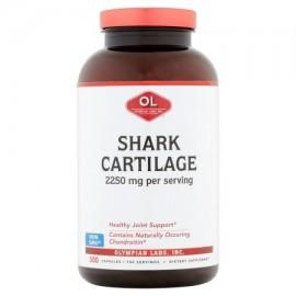 Olympian Labs cartílago de tiburón de los Suplementos Dietéticos 2250mcg 300 recuento