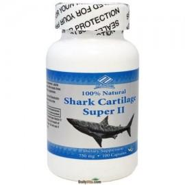NuHealth cartílago de tiburón de 750 mg 100 Cápsulas