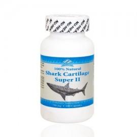 Cartílago de tiburón de Super Ii (100 Cápsulas - 750 Mg)