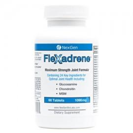 Flexadrene - La Fórmula articulación más completa con 24 Premium Ingredients Incluyendo grado farmacéutico glucosamina Chron