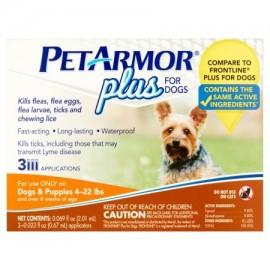 PetArmor Plus perro 4-22 lb