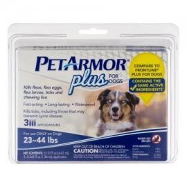 PetArmor Plus para Perros 23-44 libras - 3 CT