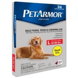PetArmor para perros 45-88 lbs 3-Count