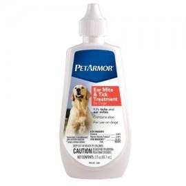 PetArmor ácaros del oído y garrapatas para perros