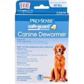 ProSense canina 4-Gram Antihelmíntico