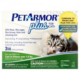 PetArmor Plus para Gatos 3 ct