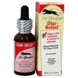 Dr. Goodpet - Diar-Alivio homeopática Fórmula para perros y gatos - 1 oz